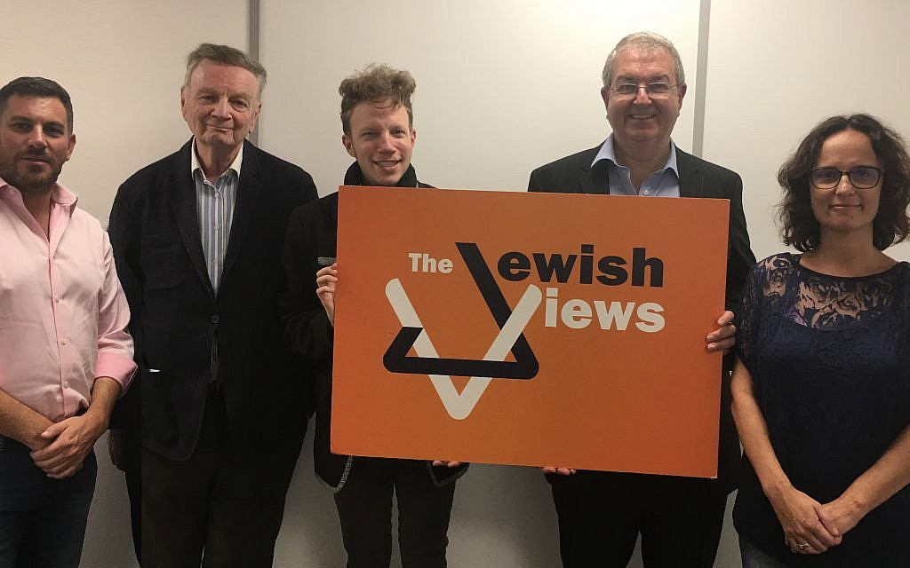 Guests on this week's Jewish Views podcast
