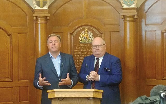 Ed Balls and Lord Pickles