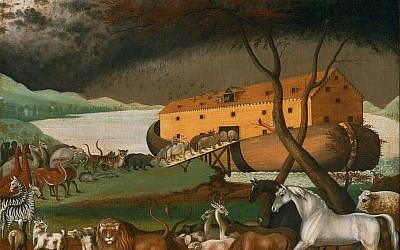 Noah's Ark (1846), a painting by the American folk painter Edward Hicks.