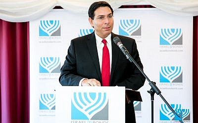 Danny Danon speaking in parliament. Chiko Photography