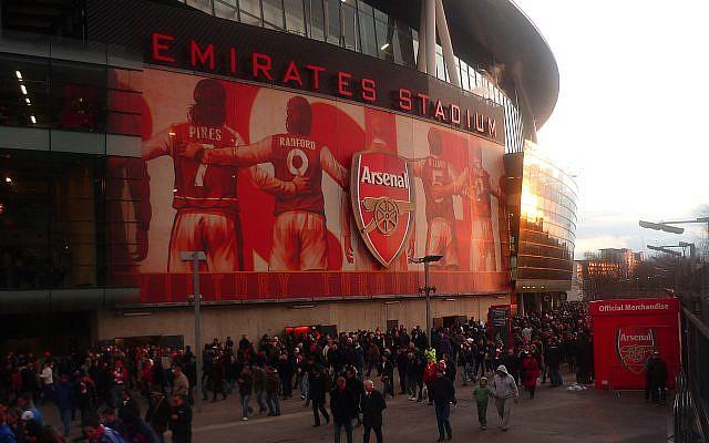 Arsenal's Emirates Stadium. (Source: Julian Osley -  geograph.org.uk - via Wikimedia Commons)