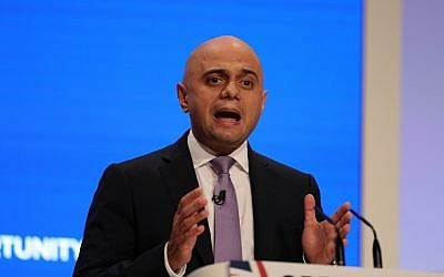 Home Secretary Sajid Javid. Photo credit: Aaron Chown/PA Wire