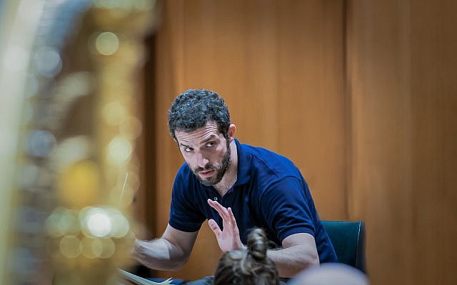 Israeli Omer Meir Wellber has been appointed as the BBC Philharmonic's new Chief Conductor. Photo credit: Peter Meisel/BBC/PA Wire