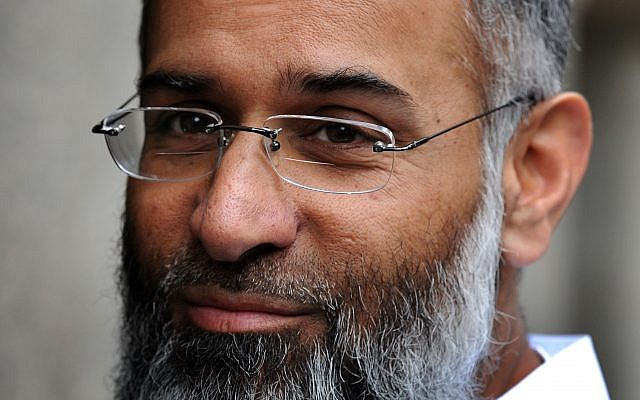 British preacher Anjem Choudary. Photo credit: Nick Ansell/PA Wire