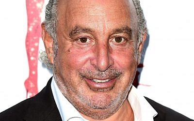 Topshop owner Sir Philip Green. Photo credit: Ian West/PA Wire
