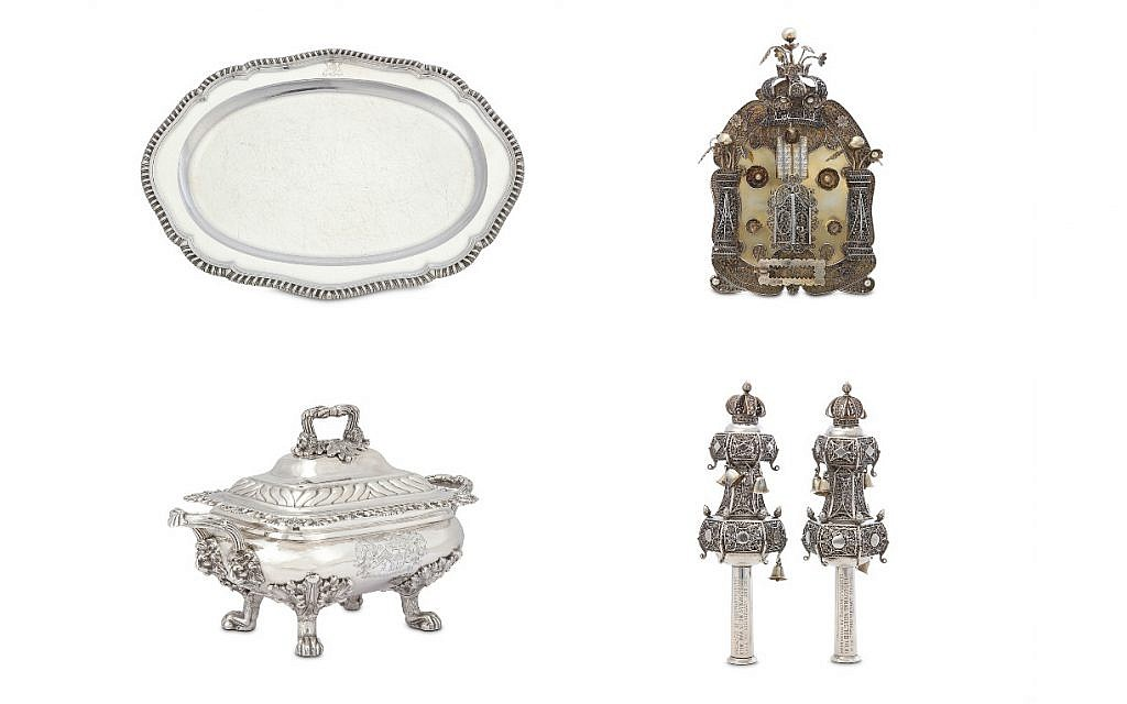 Four items of Judaica up for auction