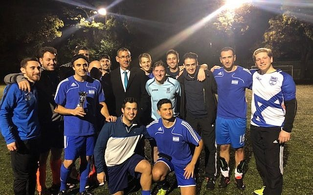 Israel finished as runners-up at the Embassy World Cup