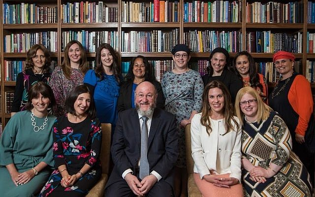 The Chief Rabbi with the graduates of the Ma'aynot Project for female Jewish leaders. Picture credit: Blake Ezra Photography