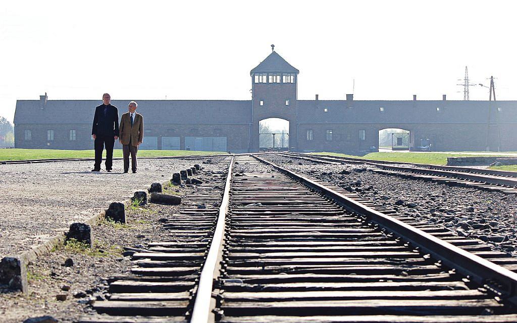 The Auschwitz entrance was among the scenes depicted on Christmas decorations for sale through Amazon