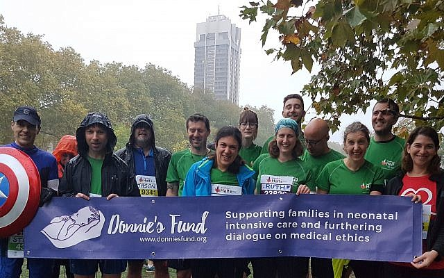 Runners who took part to raise money for Donnie's Fund