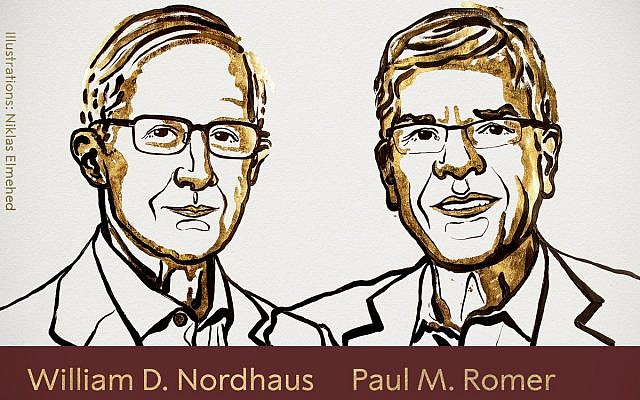 William Nordhaus (left)