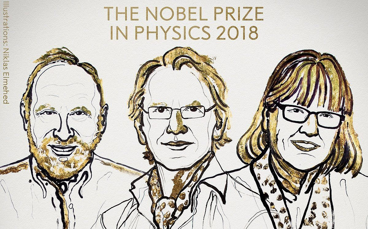 Canadian scientist Donna Strickland shares Nobel physics prize
