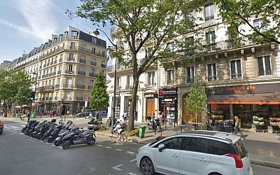 Google Street view showing a street in the French capital (Credit:  http://www.leparisien.fr  Google Street View)