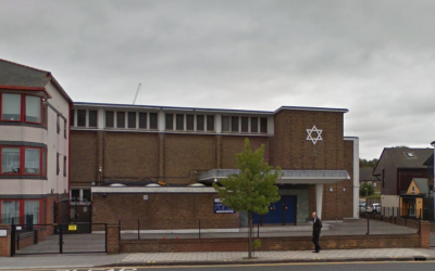 Ilford United Synagogue (Screenshot from Google Maps)