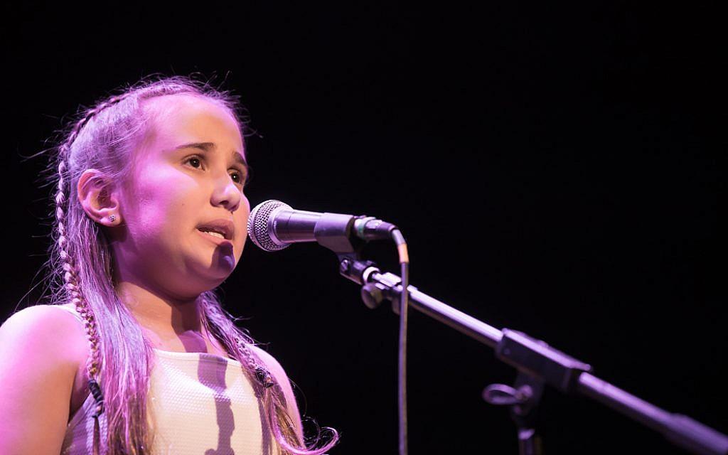 Shelly Chitiyat singsBarbra Streisand to winJews Got Talent