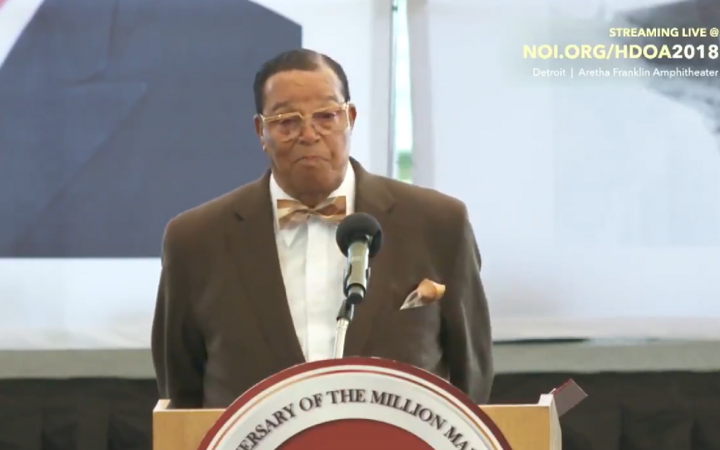 Nation of Islam leader Louis Farrakhan rebuts charges of antisemitism