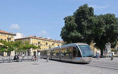 The Place Garibaldi in Nice