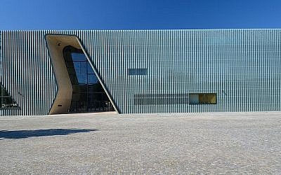 Poland's Polin museum of Polish Jews in Warsaw. Picture: By Adrian Grycuk