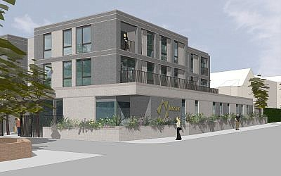 Proposed Stanmore shul for the new Mosiac community