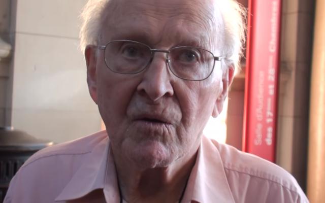 Robert Faurisson. Source: Screenshot from YouTube
