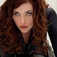 Scarlett Johansson as Natasha Romanoff in Iron Man 2