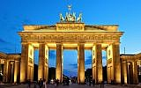 The Brandenburg Gate, icon of Berlin and Germany