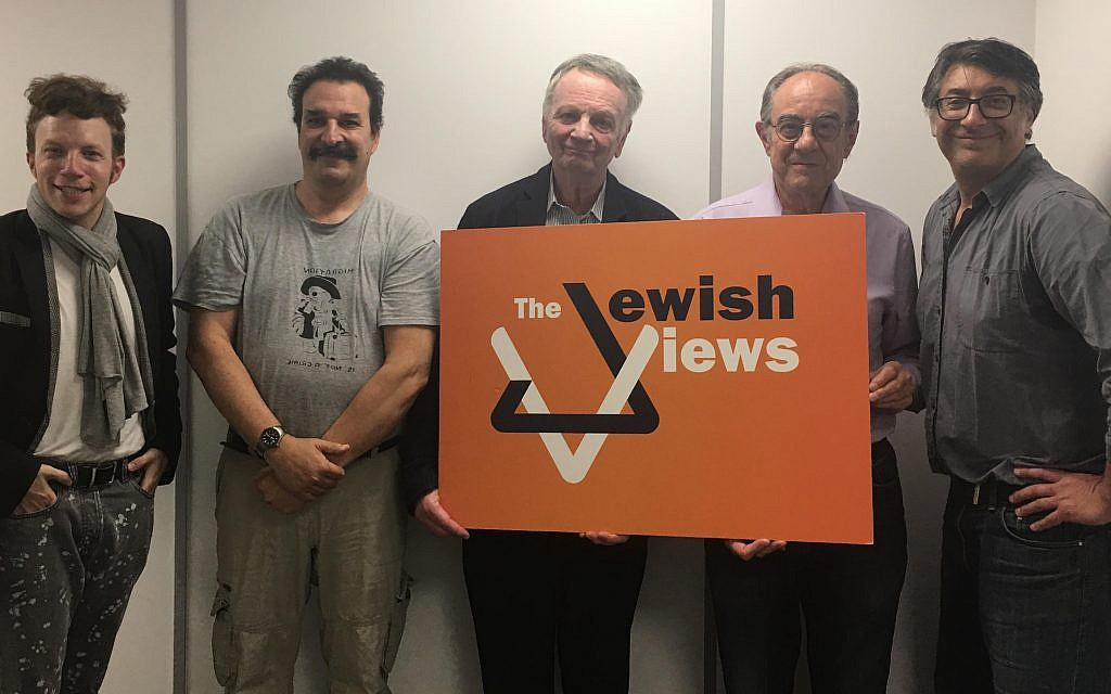 Guests on this week's episode of the Jewish Views podcast!
