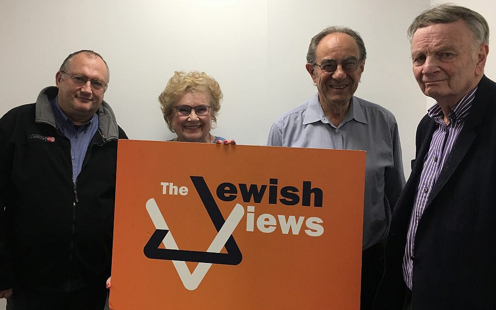 Some of this weeks guests on the Jewish Views podcast