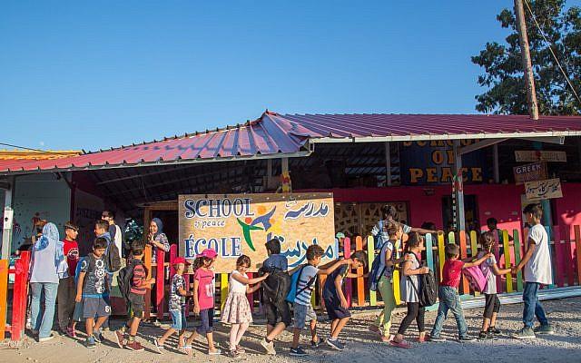 The School of Peace, Lesbos. Photo - Lisa Kristine