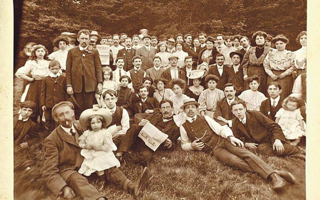 From the YIVO archive: Jewish socialists at a picnic around 1902