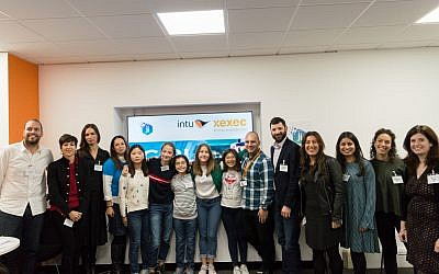 Winners of the Girls Do Tech event, sponsored by Jewish News