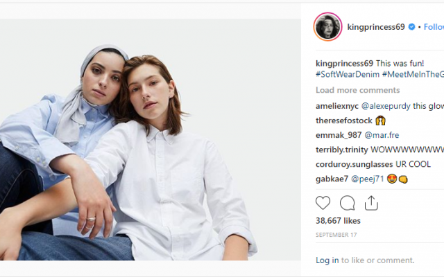 Muslim and Jewish models feature in Gap's new ad campaign