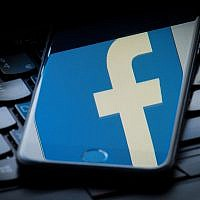 The logo of social media giant  Facebook. Photo credit: Dominic Lipinski/PA Wire