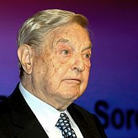 Billionaire investor George Soros, Photo credit: Sean Dempsey/PA Wire