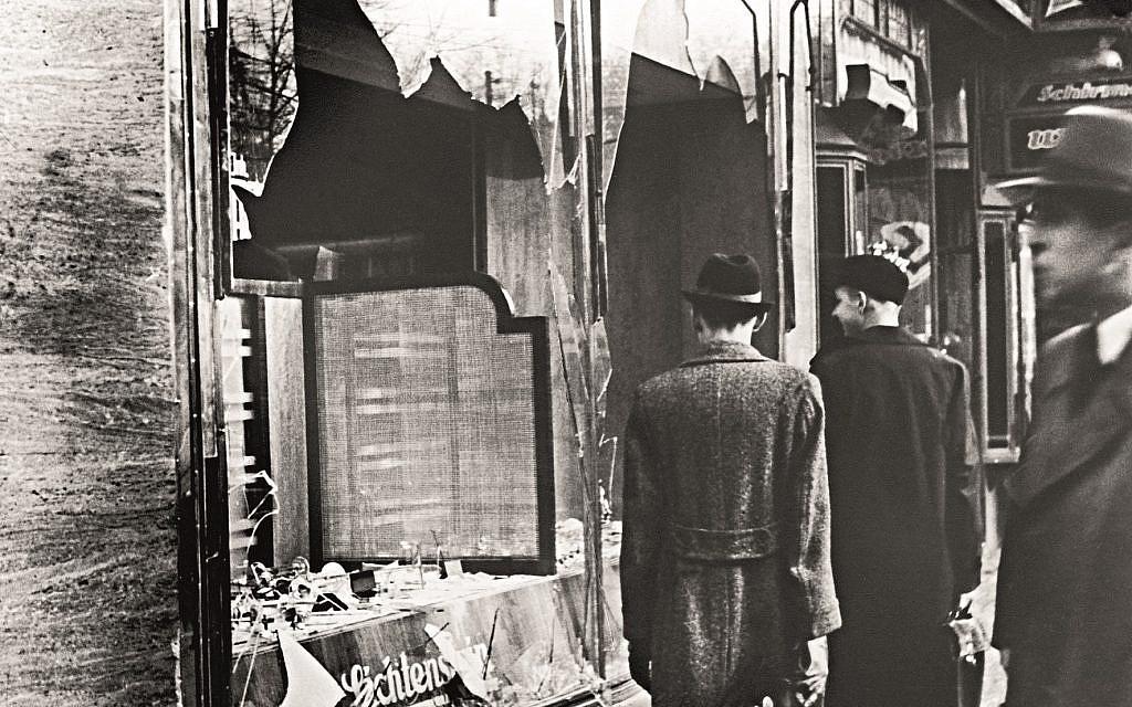 Kristallnacht - 80 years this week.