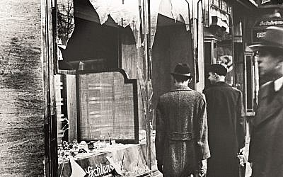 Kristallnacht - 80 years this week.