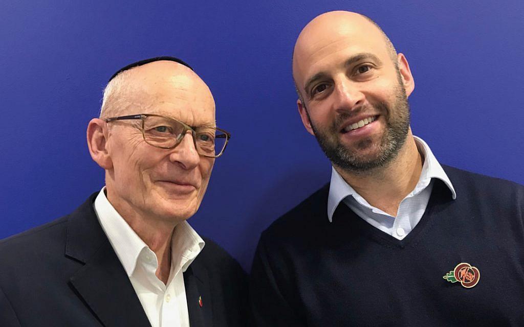 AJEX long-time executive director Jacques Weisserand successor Major Danny Yank