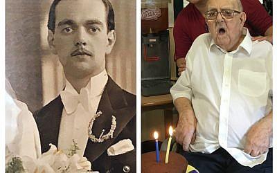 Benjamin Isaac John Israel on his wedding day, and celebrating his birthday at Nightingale!