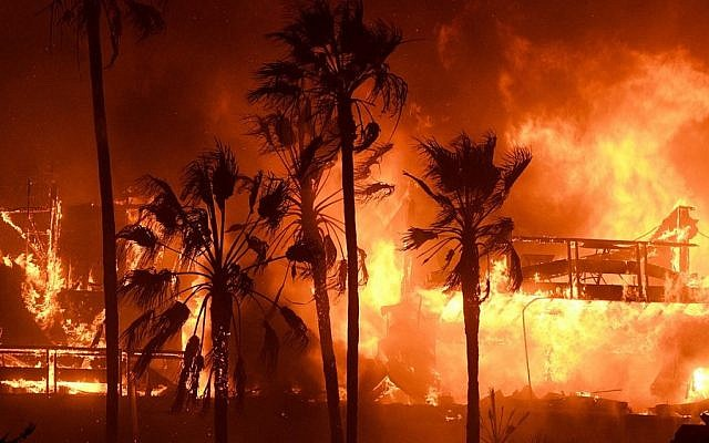 The fires sweeping through southern California have led to the evacuation of more than 260,000 people, burned over 83,000 acres and destroyed more than 170 homes