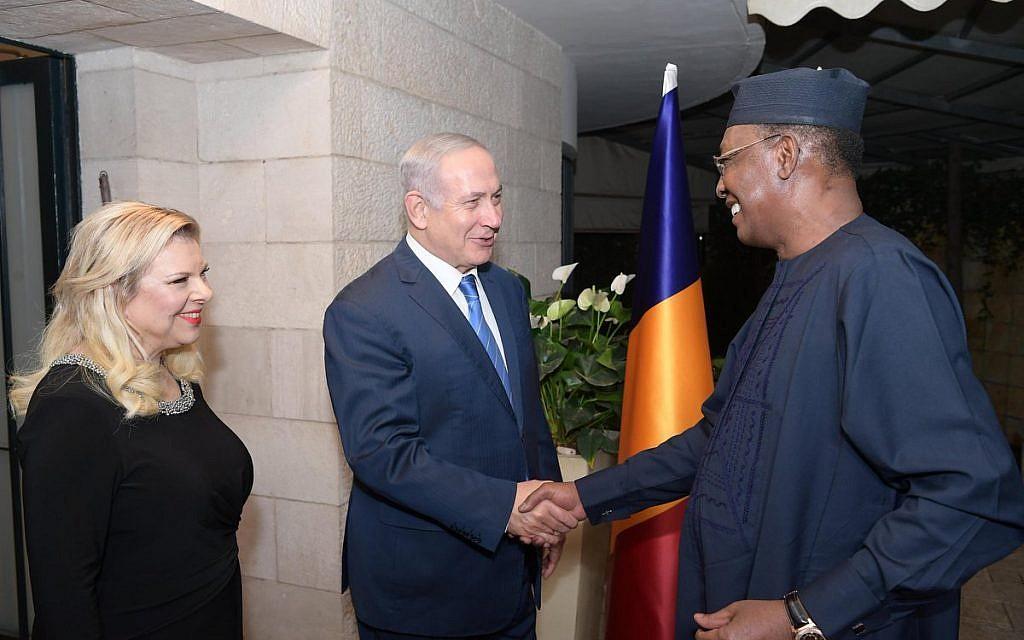 Chad President Idriss Deby met Israeli PM Benjamin Netanyahu