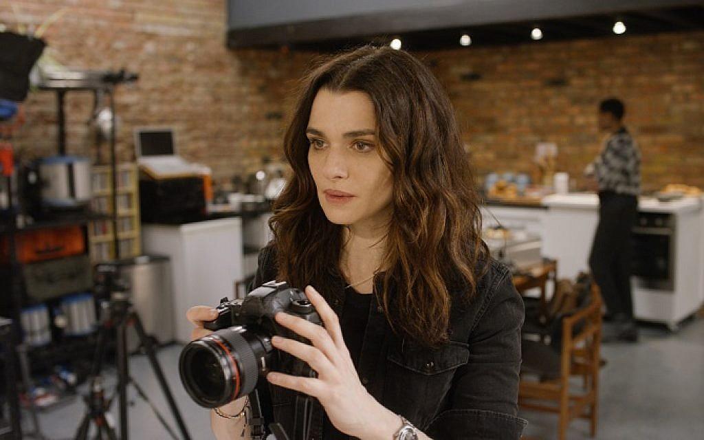 Rachel Weisz filming for Disobedience