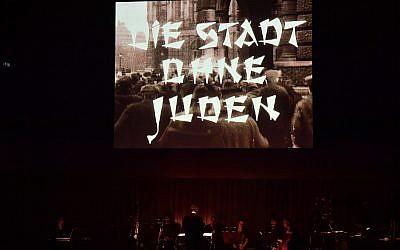 Die Stadt ohne Juden (City without Jews). Credit: Mark Allan / Barbican. Source: Jewish News