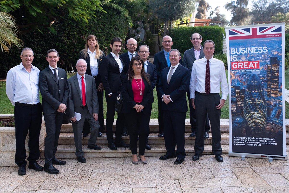 Britischer Minister strebt mehr Handel mit Israel an