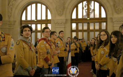 French Jewish scouts. Source: CRIF website