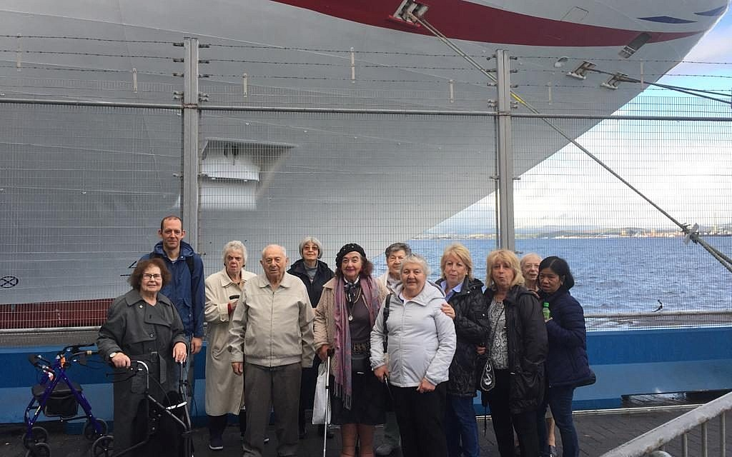 The AJR group visiting Gibraltar