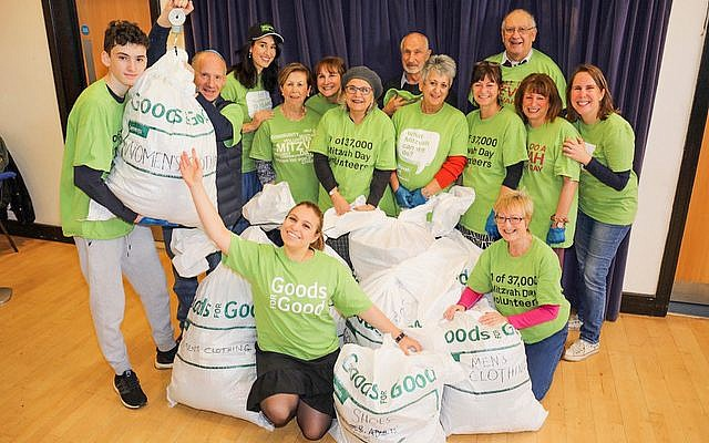 Goods for Good Collection at Bushey Synagogue