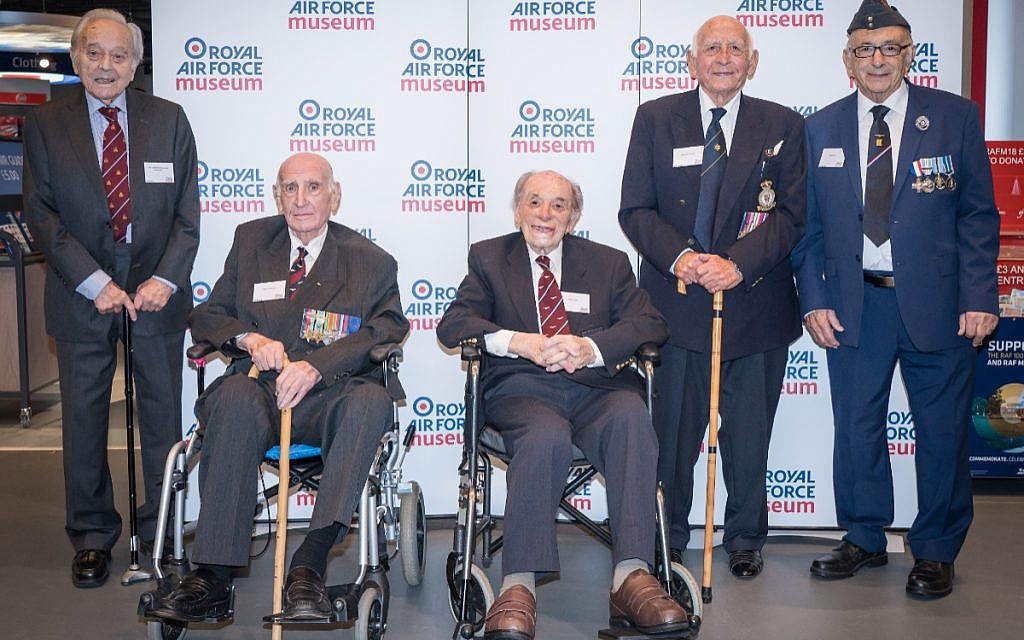 Hidden Heroes at the RAF Museum in London. Photo date: Thursday, November 15, 2018. Photo: Richard Gray