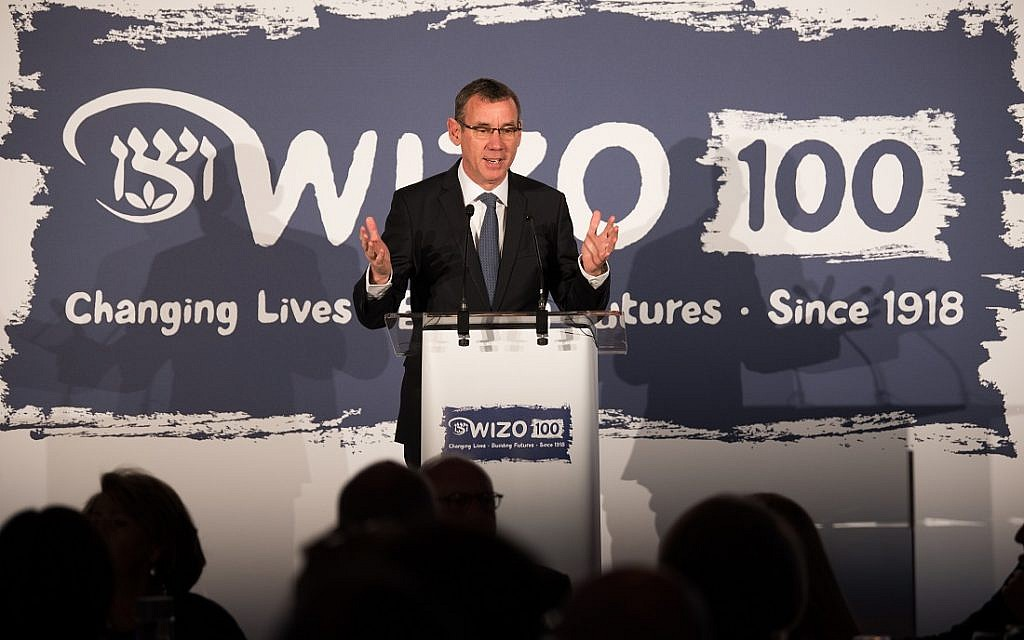 Israeli Ambassador Mark Regev. WIZO UK centenary dinner. Credit: Blake Ezra