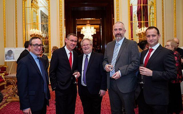 Israeli Ambassador Mark Regev with Liberal rabbis and dignitaries