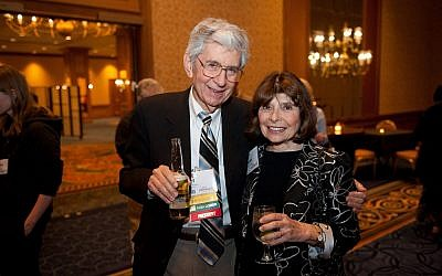 Kurt Salzinger with his wife Deanna Chitayat. Picture: Facebook